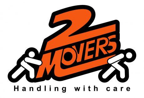 2 Movers logo design melbourne studio rosinger