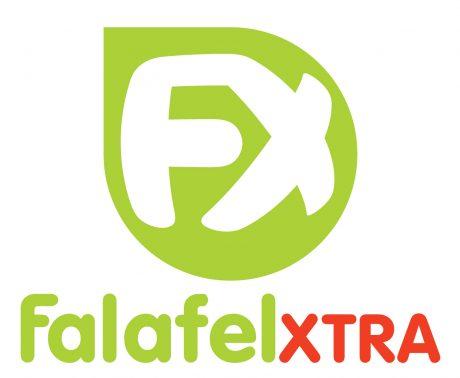 Falafel Xtra logo design melbourne studio rosinger