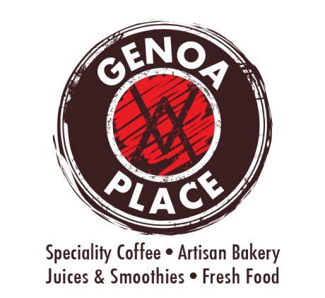 Genoa Place logo design melbourne studio rosinger
