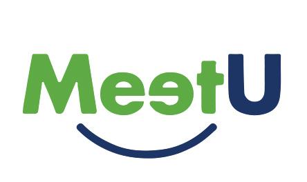 MeetU logo design melbourne studio rosinger
