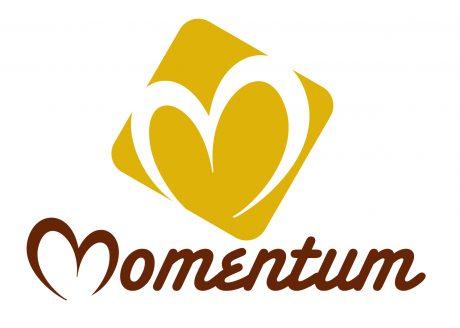 Momentum logo design melbourne studio rosinger