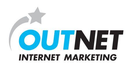 Outnet logo design melbourne studio rosinger