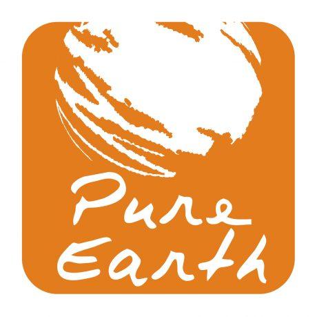 Pure earth logo design melbourne studio rosinger