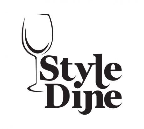 Style Dine logo design melbourne studio rosinger