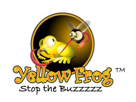 Yellow Frog logo design melbourne studio rosinger