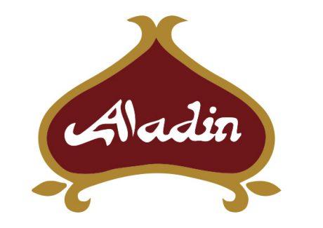 Cafe aladin logo design melbourne studio rosinger