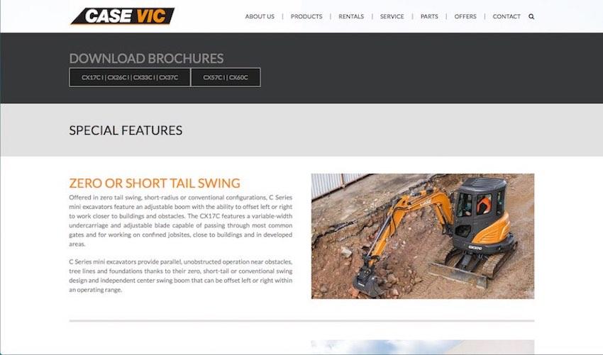 Case Vic webiste designed and programmed by Studio Rosinger - creative agency - web design agency melbourne