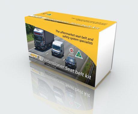 Packaging Design Melbourne - APV Safety Products - Studio Rosinger Pretensioner