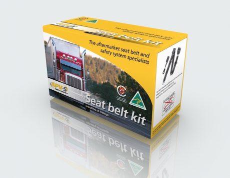 Packaging Design Melbourne - APV Safety Products - Studio Rosinger Truck